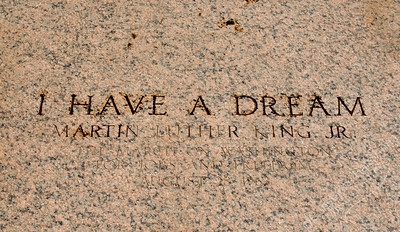 Lincoln Memorial - Martin Luther King, Jr., I have a dream