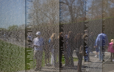 Vietnam Memorial - reflections