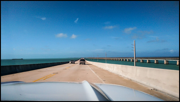 Westbound on Seven Mile Bridge