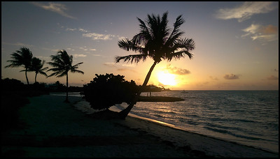 Sunrise at Sombrero beach, Marathon