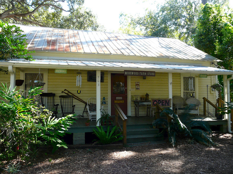 Mosswood Farm Store and Bakery in Micanopy, Florida