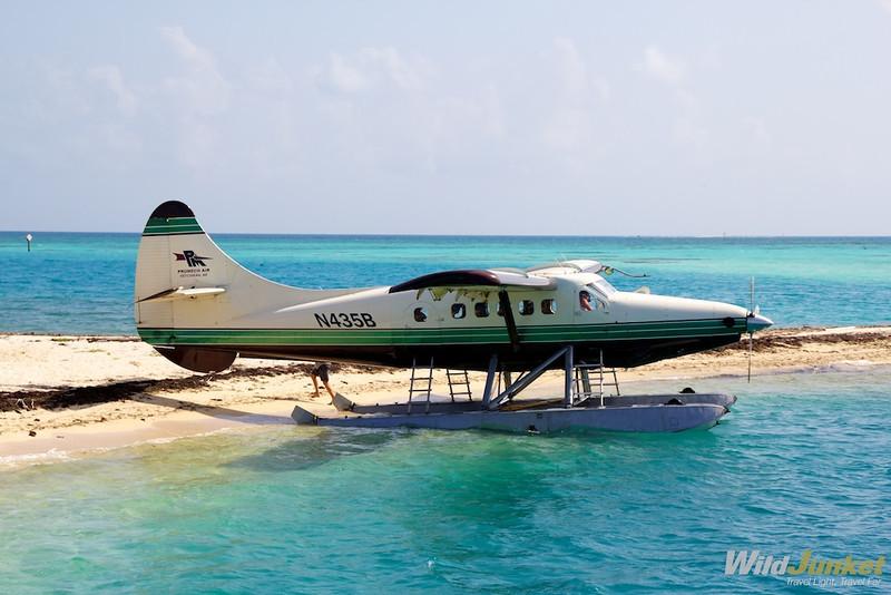 A seaplane