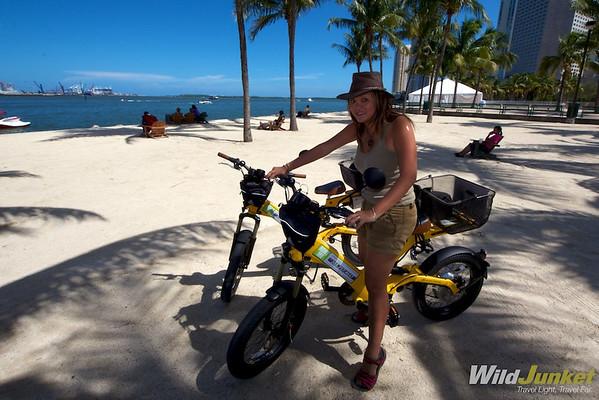 Biking Miami