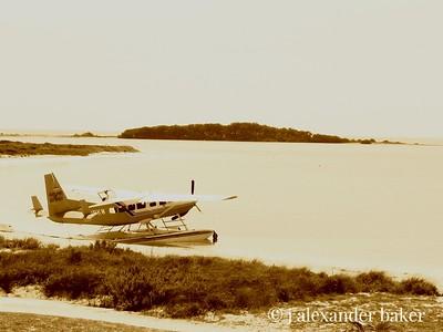 Seaplane, Ft. Jefferson, Dry Tortugas, Florida