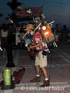 One Man Band, Mallory Square, Key West, FL