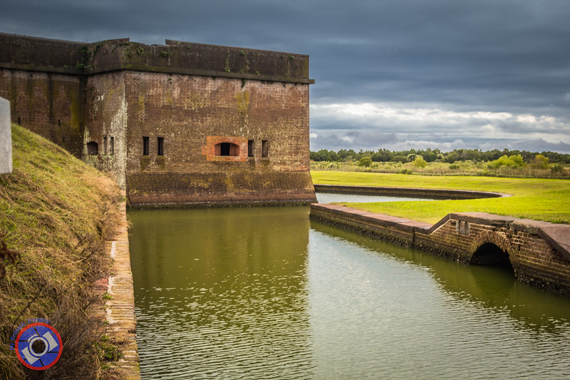 Fort Pulaski and Its Moat (©simon@myeclecticimages.com)