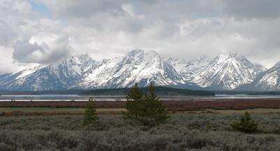 The breathtaking Teton Range!