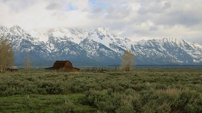 Moulton Barn on Mormon Row -  Grand Teton National Park