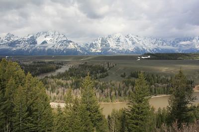 Teton Range and the Snake River