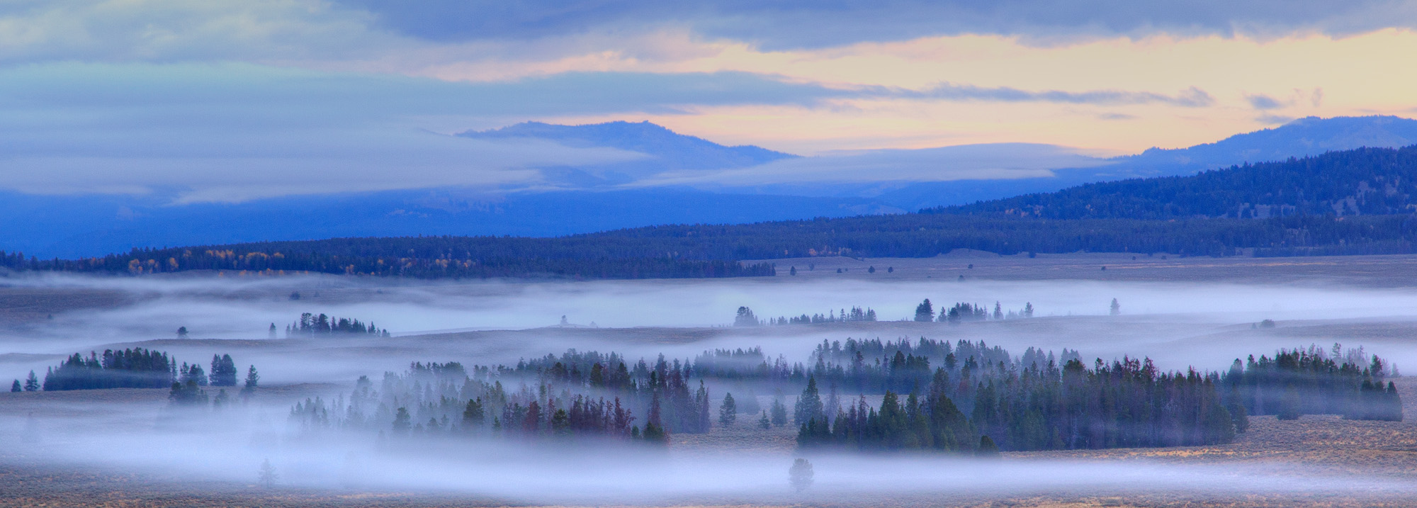Grand Teton at dawn.