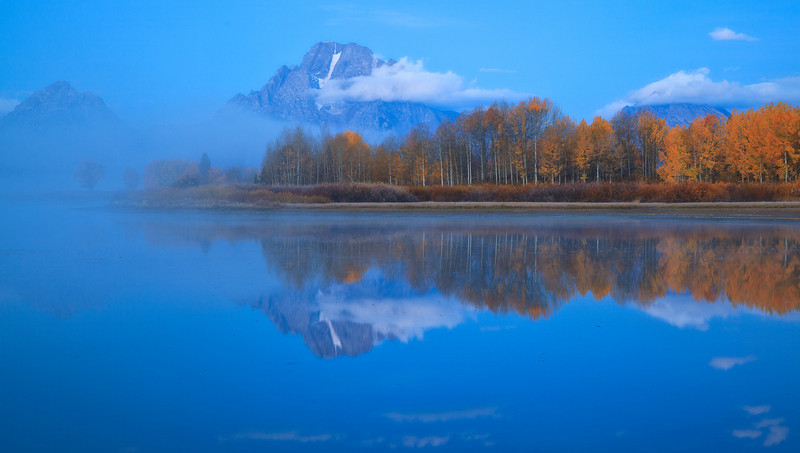 Oxbow Bend early morning