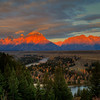 Sunrise at Grand Teton