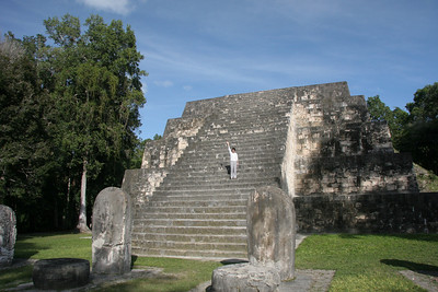 One of the pyramids in Zona Norte