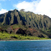 Na Pali coast on Kauai