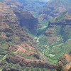 Waimea Canyon on a cloudy day