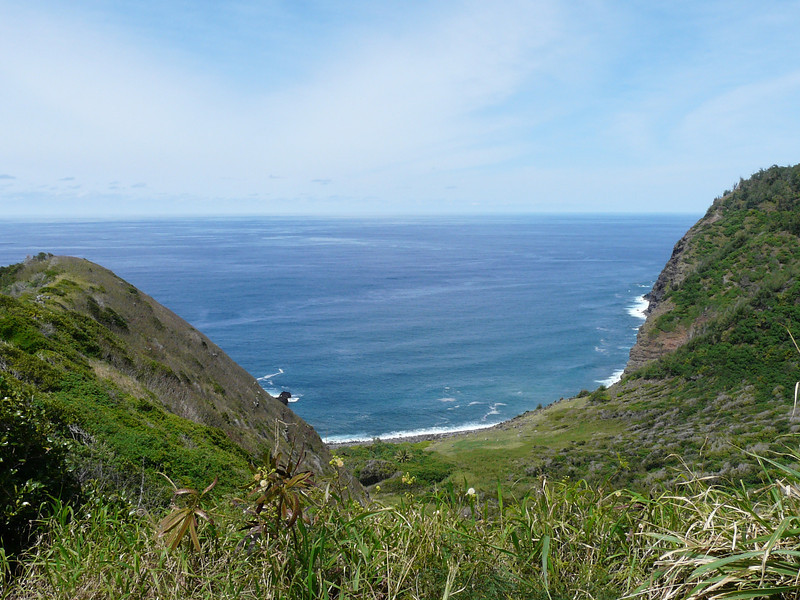 Halawa Valley Road overlook