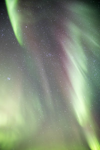 This time of year of course there are beautiful auroras to be seen on clear nights