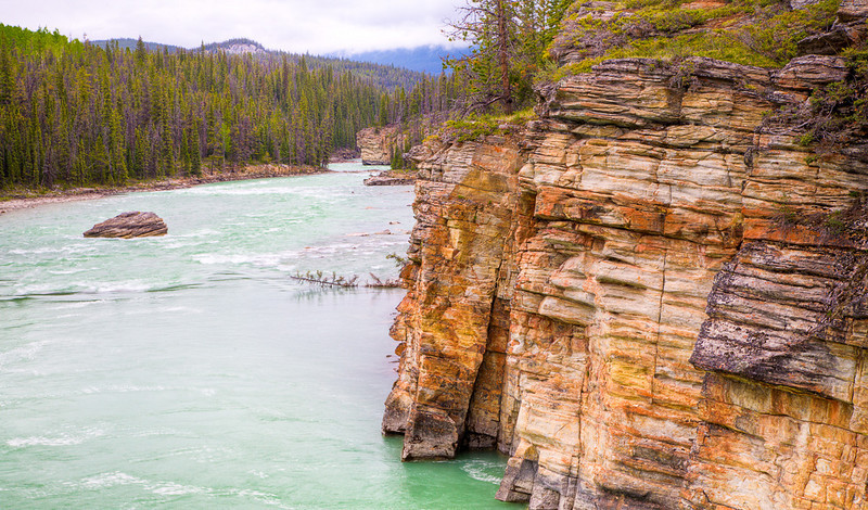 Bottom of the Athabasca Falls (99631661)