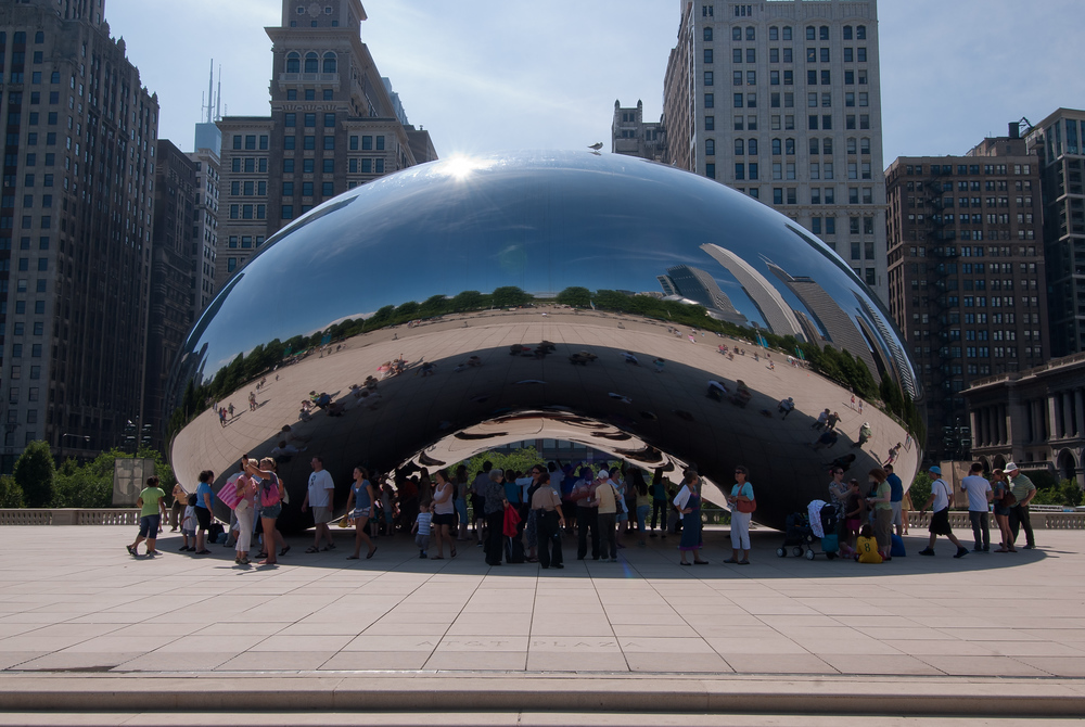 The Bean in Millennium Park, Chicago