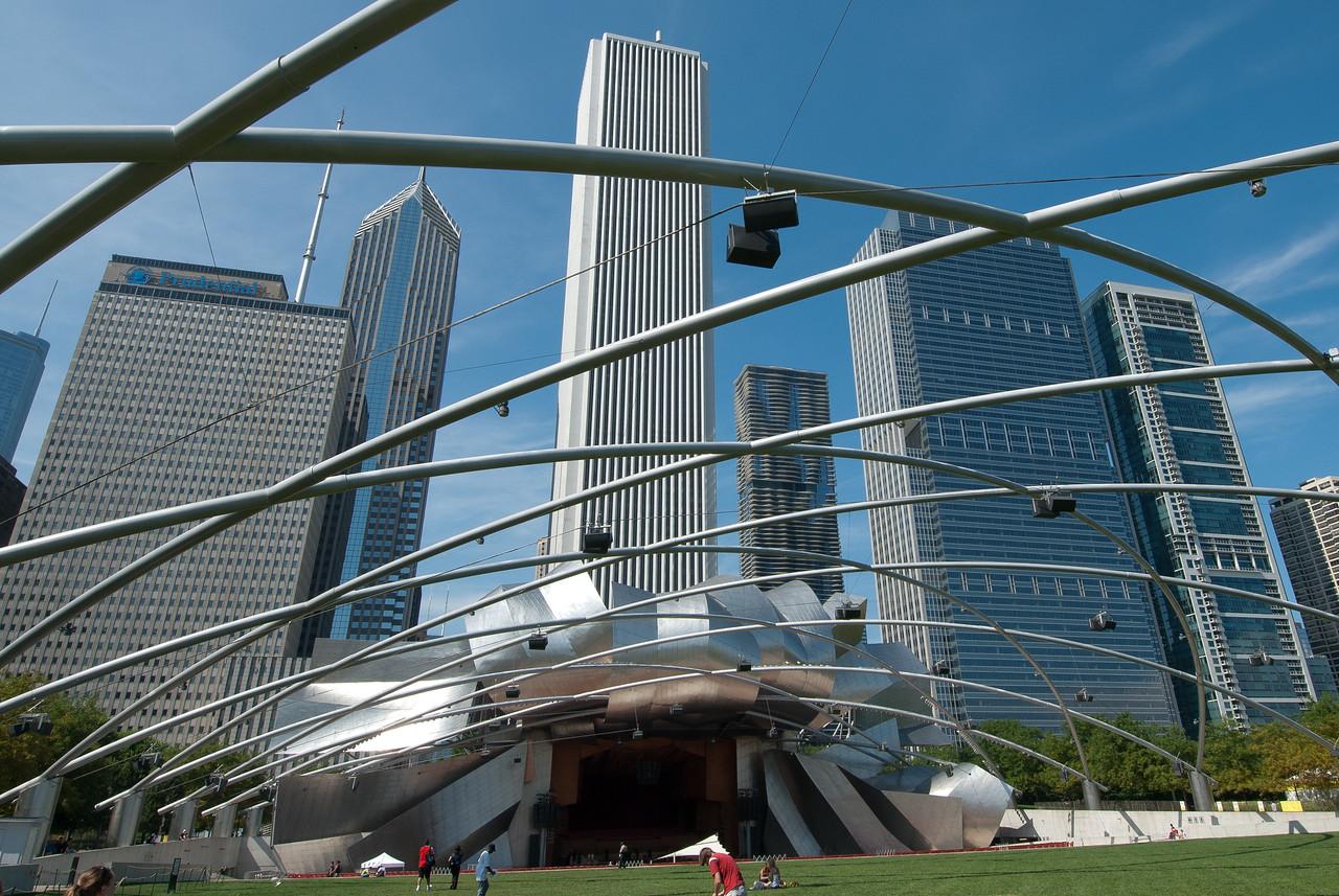 Millennium Park in Chicago, Illinois