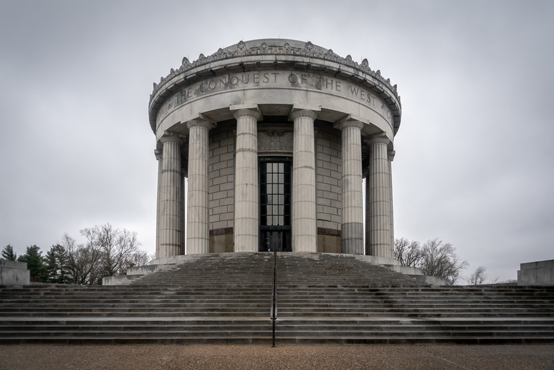 Exterior of the George Rogers Clark Memorial