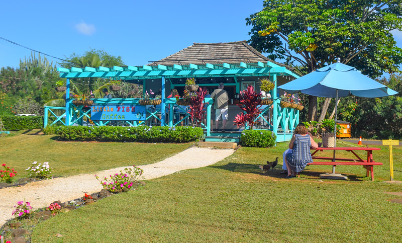 Little Fish Coffee Poipu - great stop for smoothies!