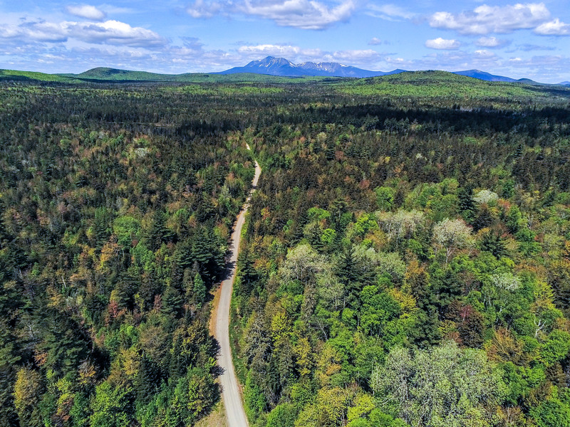 Aerial Image of Katahdin Woods, Maine