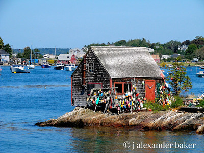 Fishing Shack, Bailey's Island, Maine