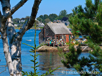 Fishing Shack, Bailey's Island, Maine v2