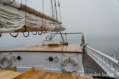 Foggy Morning sans crew, sans passengers