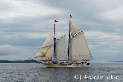 Schooner Heritage, Penobscot Bay, Maine