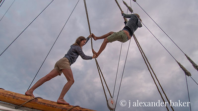 Damsels Dancing in the Rigging