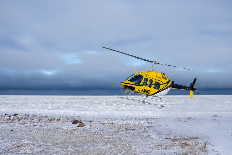 Flight seeing tours are available over Wapusk National Park