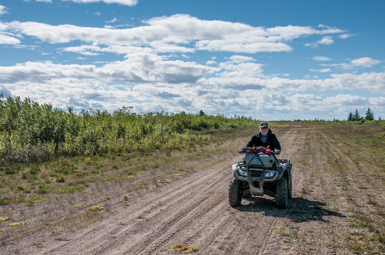 Touring Hudson Bay in quad bikes - Manitoba, Canada