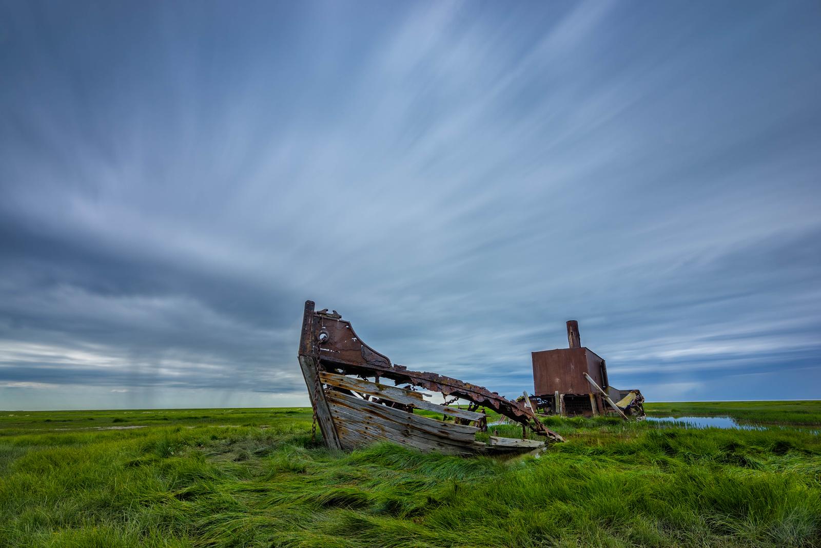 The Rugged Landscape of Hudson Bay, Manitoba