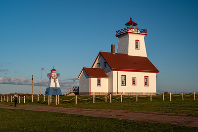 Wood Islands Lighhouse & Wood Islands Harbor Rear Range PEI