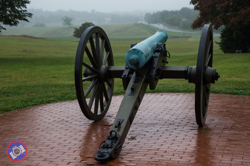 Cannon on the Patio of the Antietam National Battlefield Welcome Center (©simon@myeclecticimages.com)