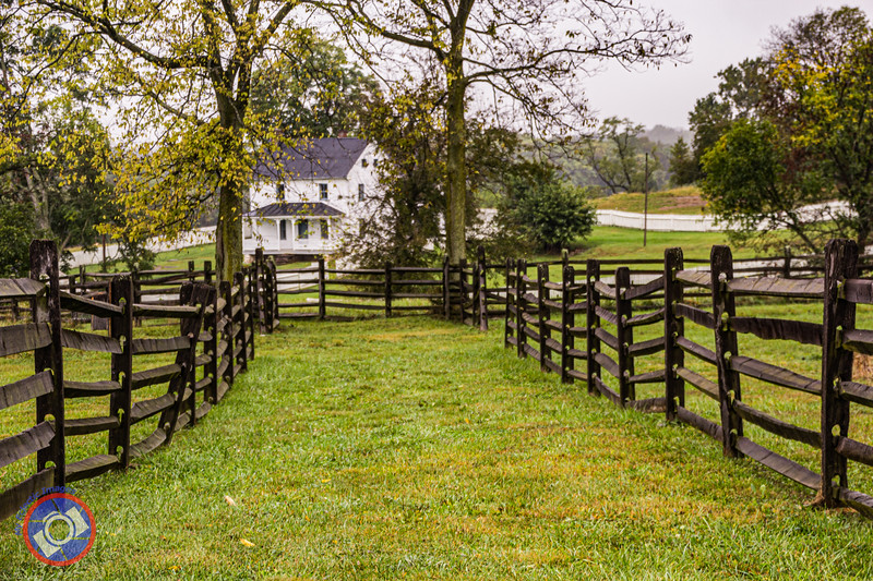 Farm Building on the Edge of the Antietam National Battlefield that Survived the Devastation When Two Armies Engage (©simon@myeclecticimages.com)