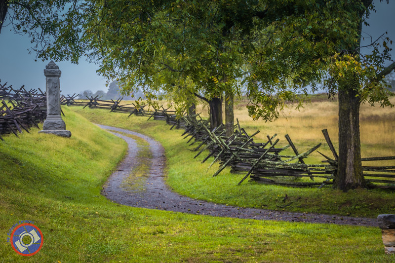 The Start of the Sunken Road at the Antietam National Battlefield (©simon@myeclecticimages.com)