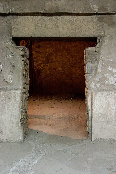 <center>Aztec T-Shaped Doorway   <br><br>Teotihuacan, Mexico    </center>