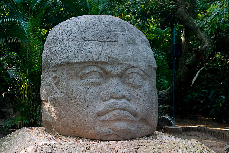 <center>Large Head   <br><br>Villa Hermosa, Mexico    </center>