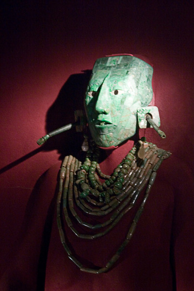 <center>Pakal's Burial Mask   <br><br>Mexico City, Mexico    </center>