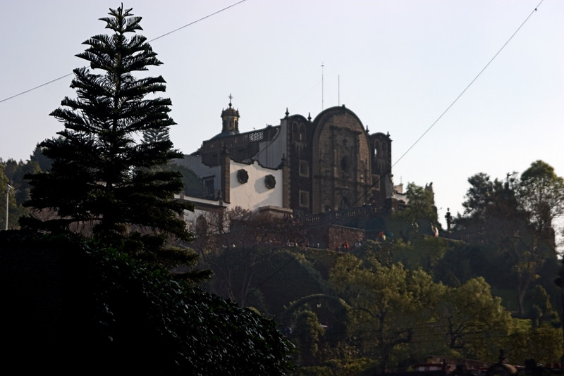 <center>Original Church on Tepeyac Hill   <br><br>Mexico City, Mexico    </center>