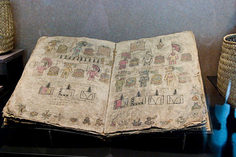 <center>Aztec Book of Records   <br><br>Mexico City, Mexico    </center>