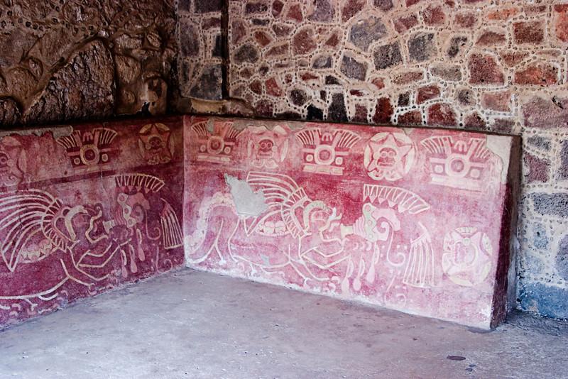 <center>Interior Frescos   <br><br>Teotihuacan, Mexico    </center>