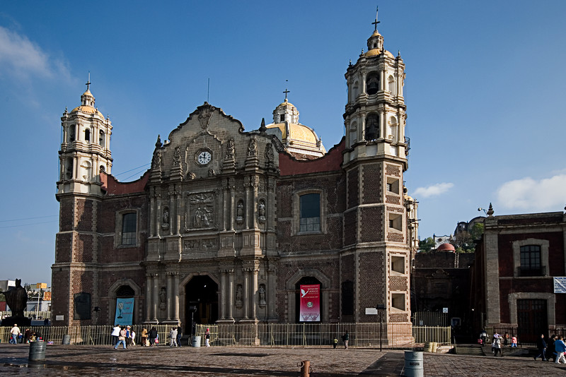 <center>Basilica of Our Lady of Guadelupe   <br><br>Mexico City, Mexico    </center>