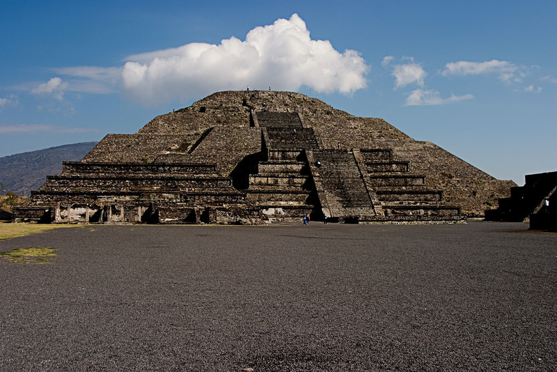 <center>Temple of the Moon   <br><br>Teotihuacan, Mexico    </center>
