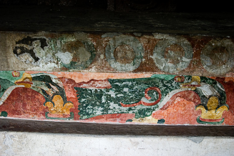 <center>More Frescoes   <br><br>Teotihuacan, Mexico    </center>