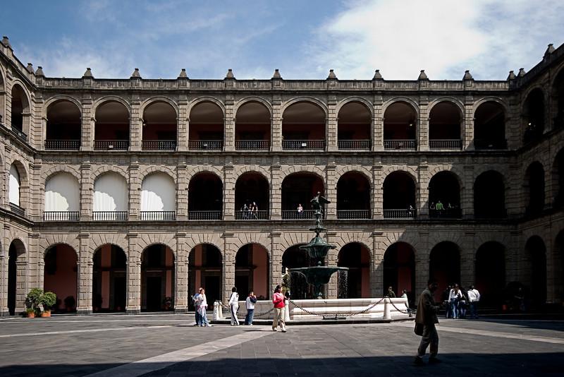 <center>Presidential Palace   <br><br>Mexico City, Mexico    </center>