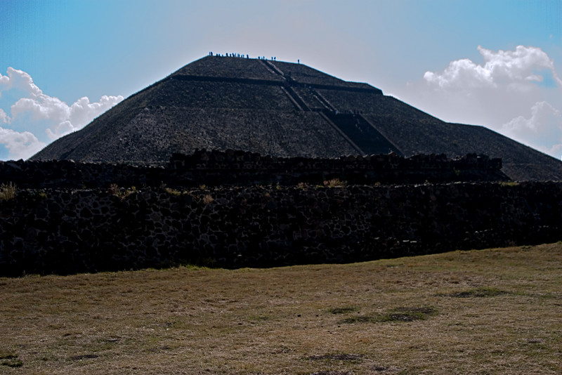 <center>Temple of the Sun   <br><br>Teotihuacan, Mexico    </center>